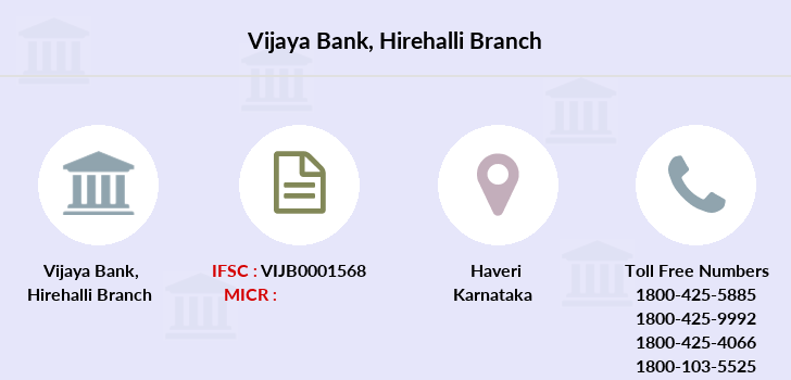 Vijaya-bank Hirehalli branch