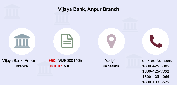 Vijaya-bank Anpur branch