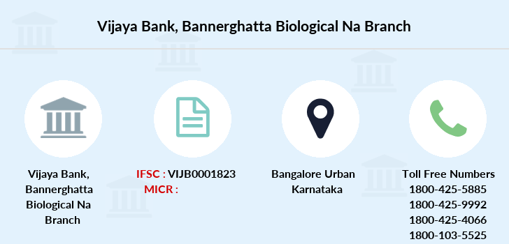 Vijaya-bank Bannerghatta-biological-na branch