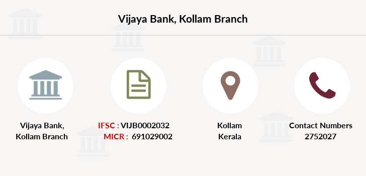 Vijaya-bank Kollam branch