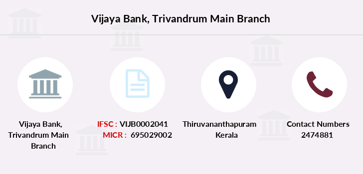 Vijaya-bank Trivandrum-main branch