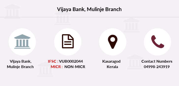 Vijaya-bank Mulinje branch