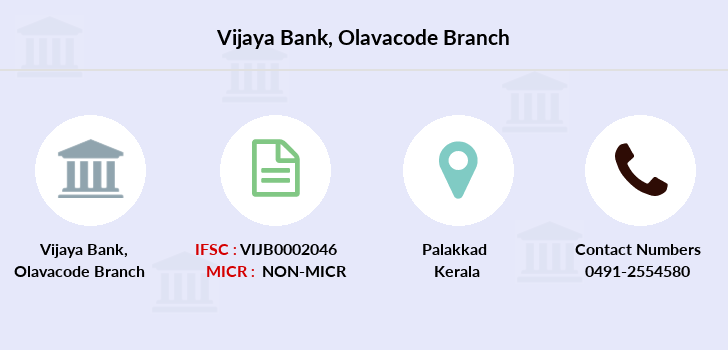 Vijaya-bank Olavacode branch