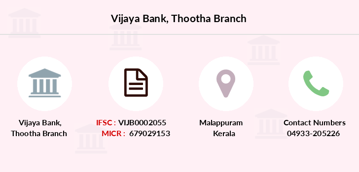 Vijaya-bank Thootha branch