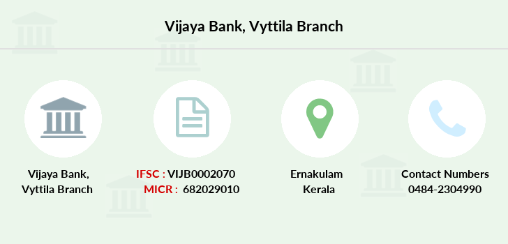 Vijaya-bank Vyttila branch