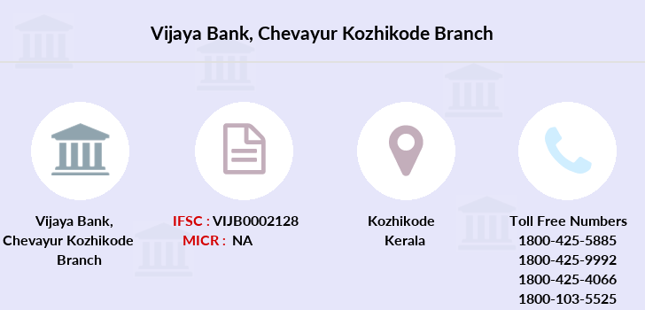 Vijaya-bank Chevayur-kozhikode branch