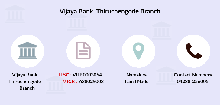 Vijaya-bank Thiruchengode branch