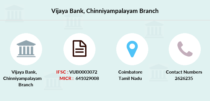 Vijaya-bank Chinniyampalayam branch