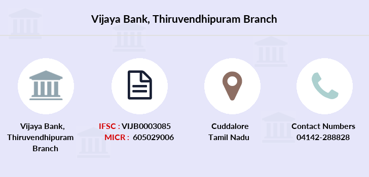 Vijaya-bank Thiruvendhipuram branch