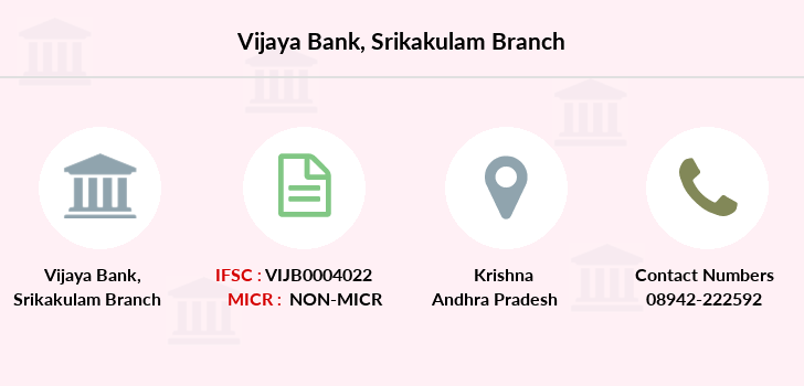 Vijaya-bank Srikakulam branch