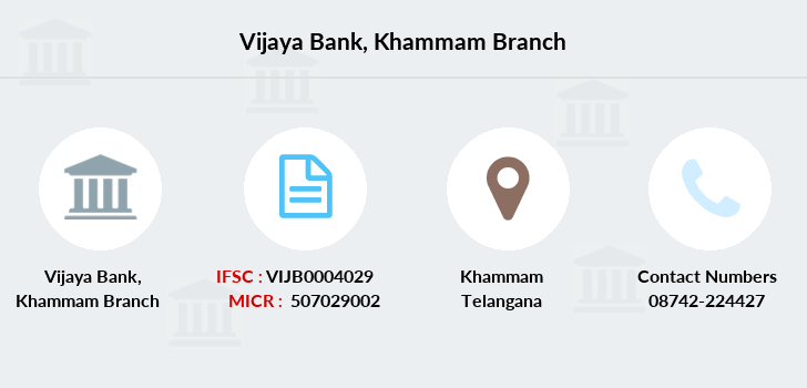 Vijaya-bank Khammam branch