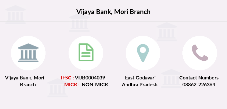 Vijaya-bank Mori branch