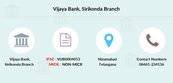 Vijaya-bank Sirikonda branch