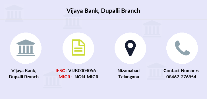 Vijaya-bank Dupalli branch