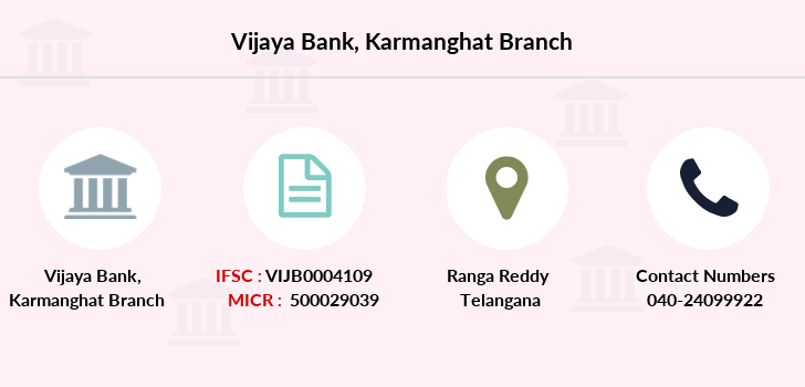 Vijaya-bank Karmanghat branch