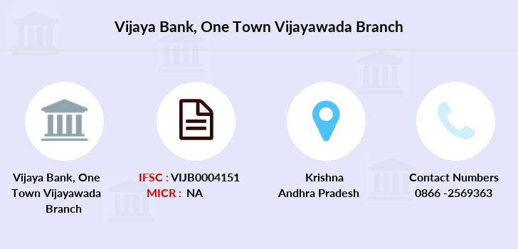 Vijaya-bank One-town-vijayawada branch