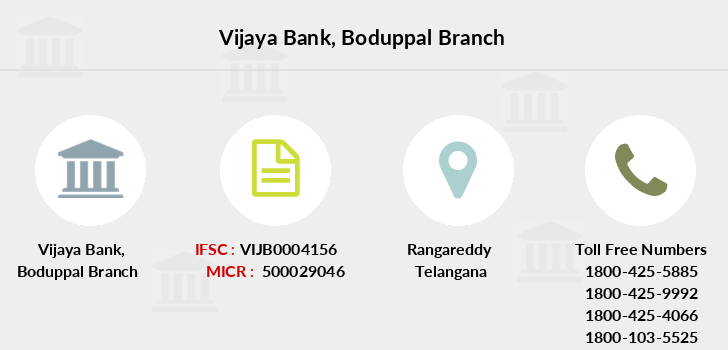 Vijaya-bank Boduppal branch