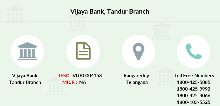 Vijaya-bank Tandur branch