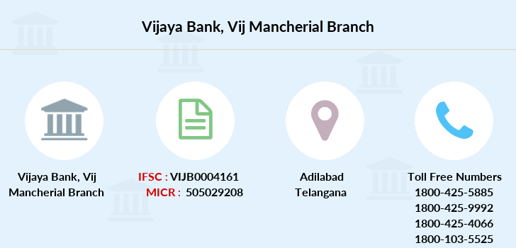 Vijaya-bank Vij-mancherial branch