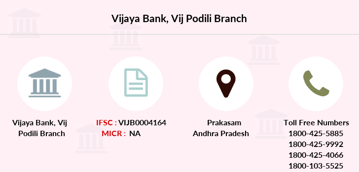 Vijaya-bank Vij-podili branch
