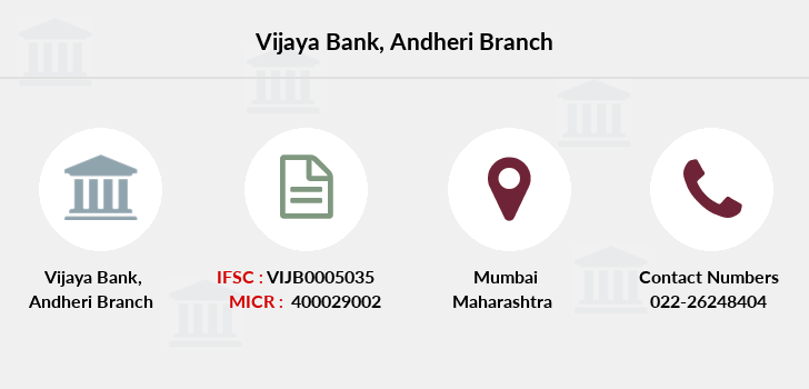 Vijaya-bank Andheri branch