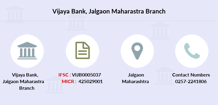 Vijaya-bank Jalgaon-maharastra branch