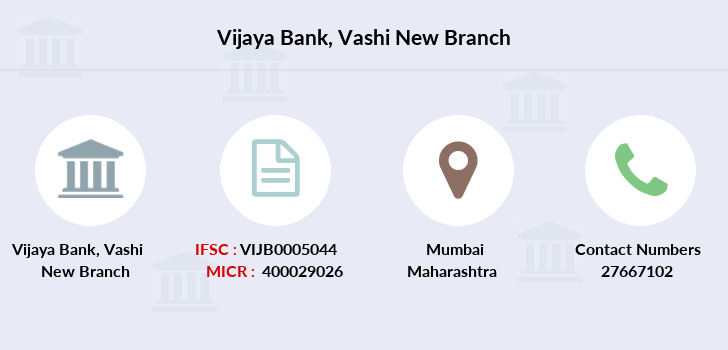 Vijaya-bank Vashi-new branch