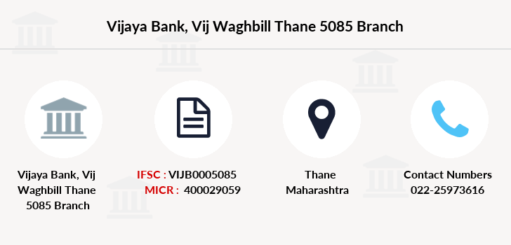 Vijaya-bank Vij-waghbill-thane-5085 branch