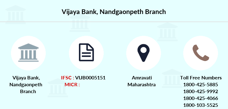 Vijaya-bank Nandgaonpeth branch