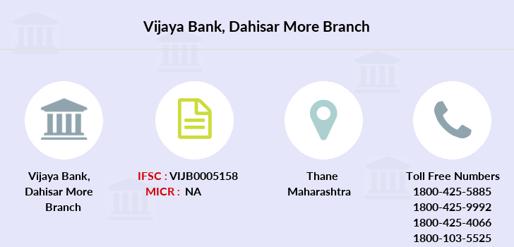Vijaya-bank Dahisar-more branch