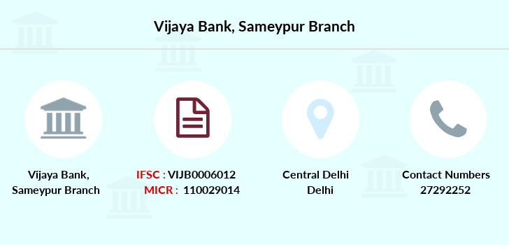Vijaya-bank Sameypur branch