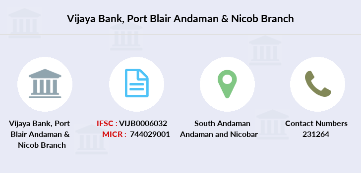 Vijaya-bank Port-blair-andaman-nicob branch