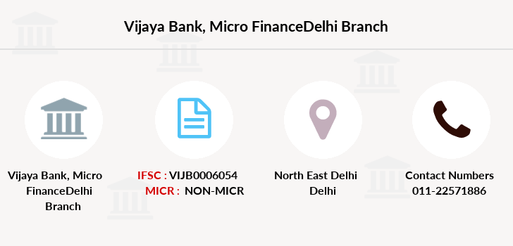 Vijaya-bank Micro-financedelhi branch
