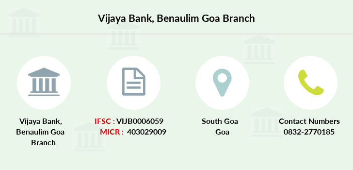 Vijaya-bank Benaulim-goa branch