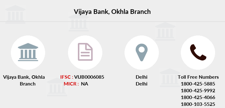 Vijaya-bank Okhla branch