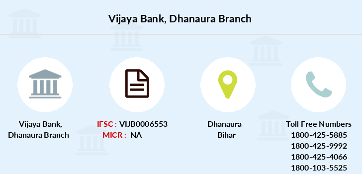 Vijaya-bank Dhanaura branch
