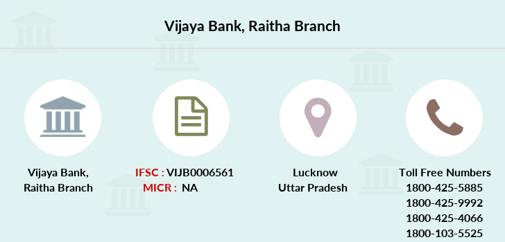 Vijaya-bank Raitha branch