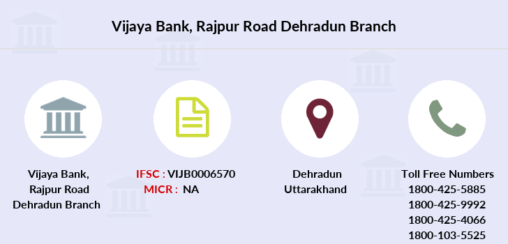 Vijaya-bank Rajpur-road-dehradun branch