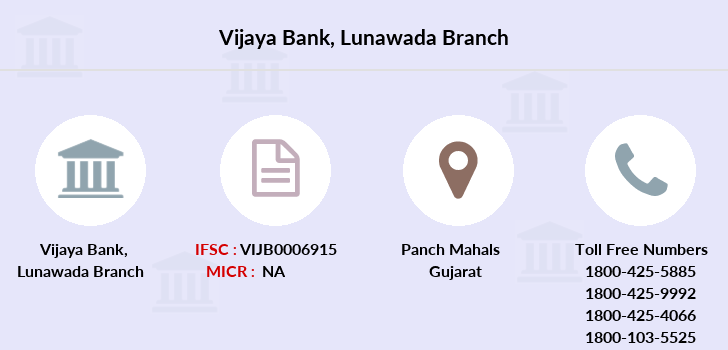 Vijaya-bank Lunawada branch