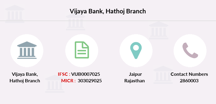 Vijaya-bank Hathoj branch