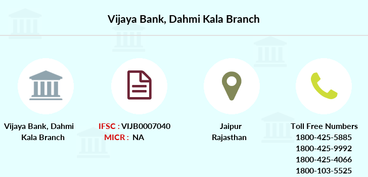 Vijaya-bank Dahmi-kala branch