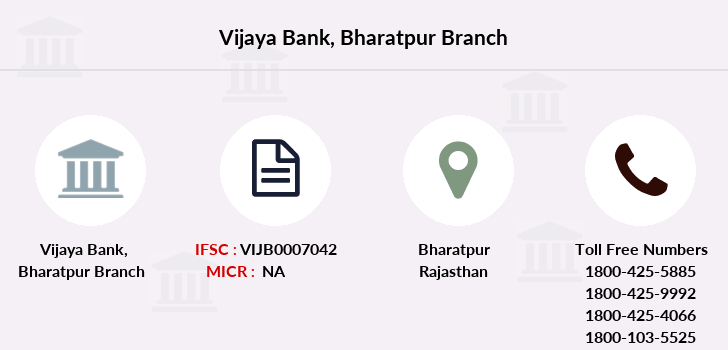 Vijaya-bank Bharatpur branch