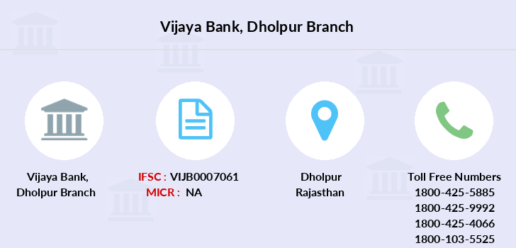 Vijaya-bank Dholpur branch