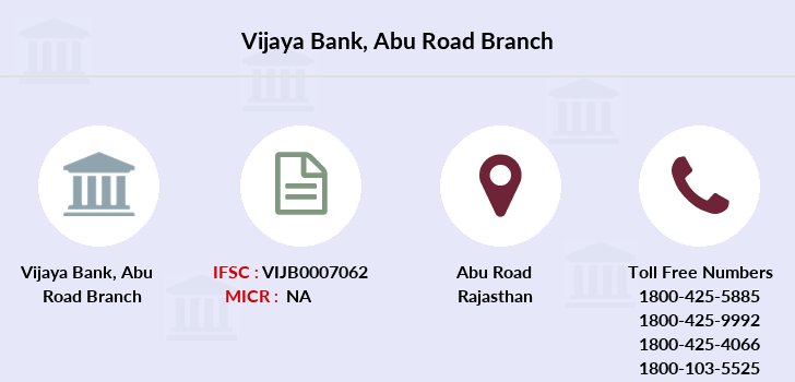 Vijaya-bank Abu-road branch