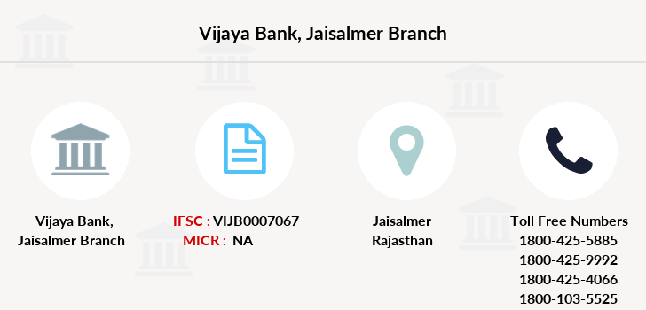 Vijaya-bank Jaisalmer branch