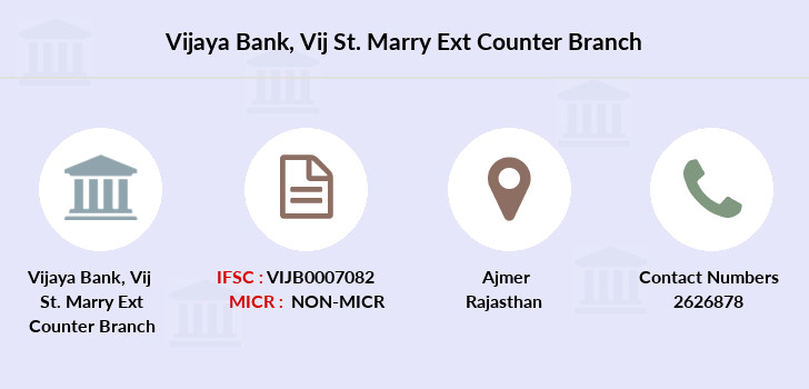Vijaya-bank Vij-st-marry-ext-counter branch