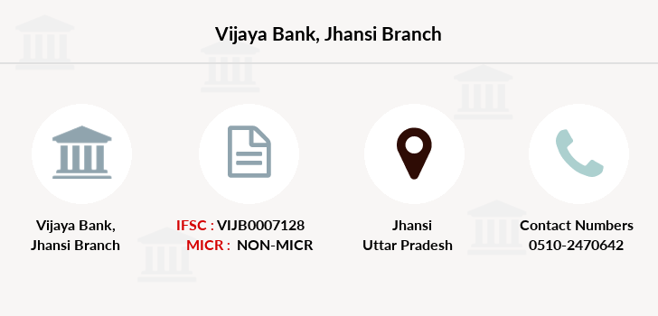 Vijaya-bank Jhansi branch