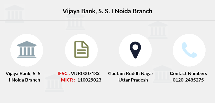 Vijaya-bank S-s-i-noida branch