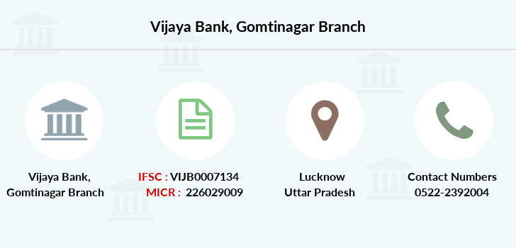 Vijaya-bank Gomtinagar branch