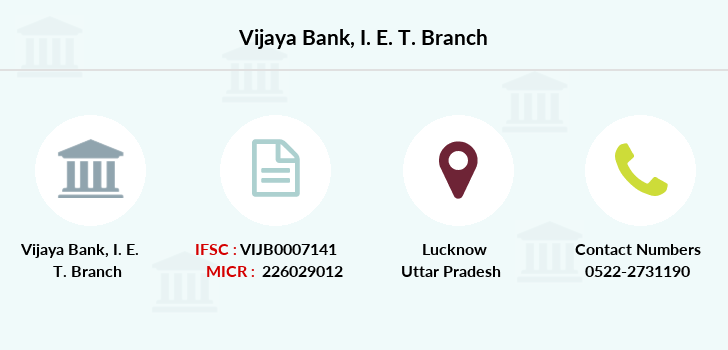 Vijaya-bank I-e-t branch